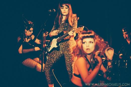 Halloween Electric Sideshow by Maren Michaelis